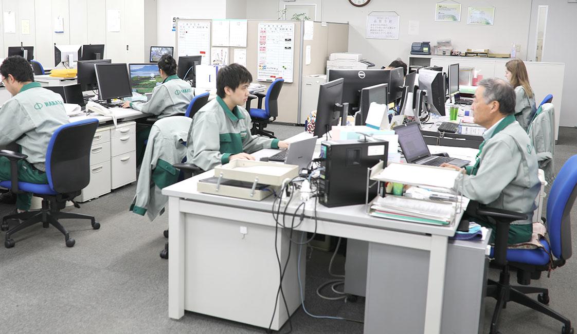 中田製作所の営業プロジェクト部