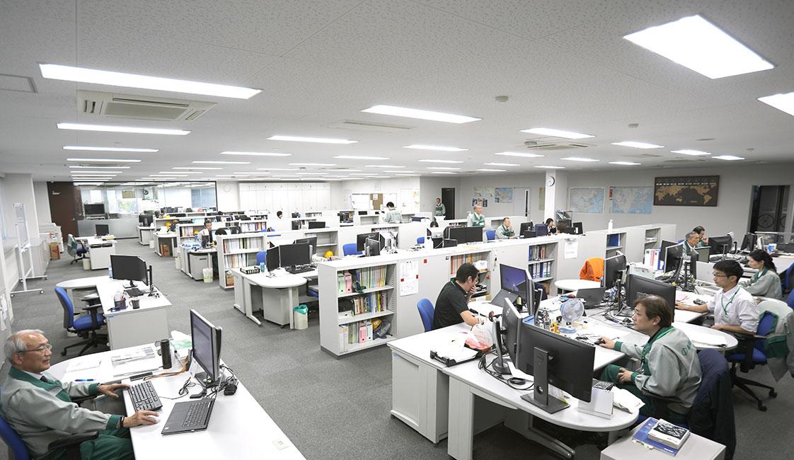 中田製作所の技術部