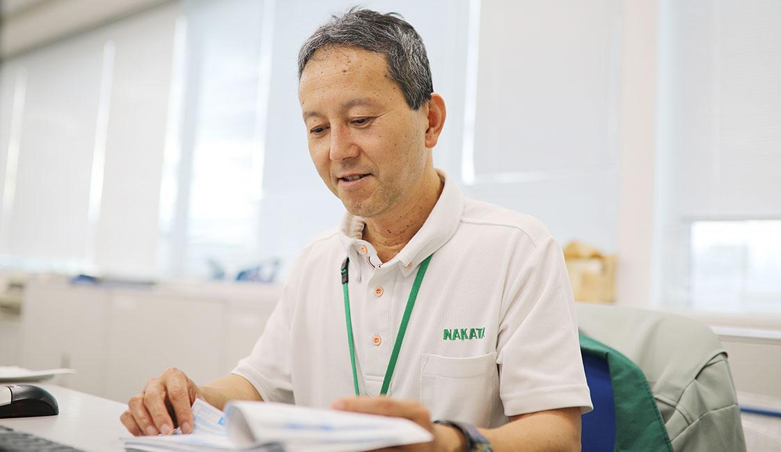 中田製作所の総務部